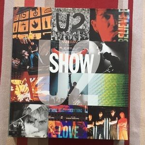 Other - U2 SHOW Coffee Table book